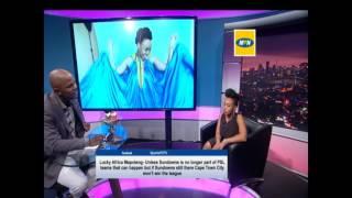 Gambar cover Thomas Mlambo interviews actress and presenter Hulisani Ravele