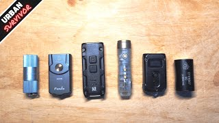 6 Best Keychain Flashlights to EDC in 2021🔦 Nitecore Tini 2 TIPSE vs Fenix E03R  vs RovyVon A5x ... screenshot 3