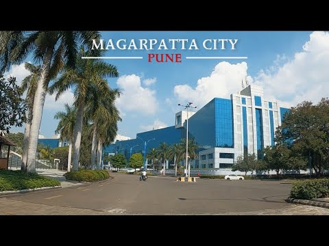 Magarpatta City Drive in 4K | Pune's Internationally Acclaimed Township | Part - 1