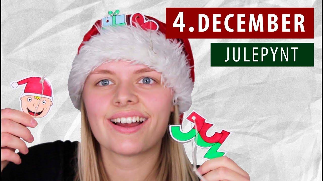 Lav selv JULEPYNT - DIY | 4. December