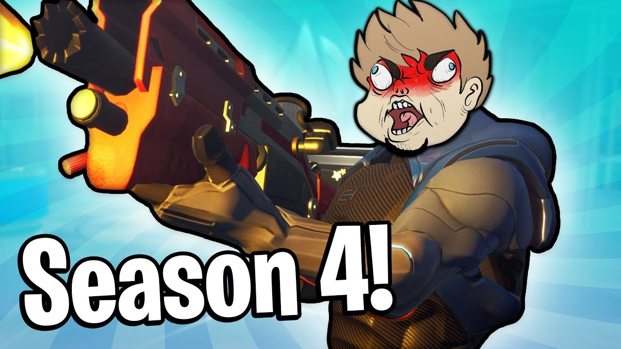 SEASON 4 RAGE! (Fortnite Season 4)
