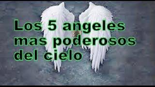 Top: Los 5 ángeles más poderosos del cielo
