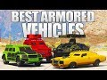 GTA 5 ONLINE - BEST ARMORED & BULLETPROOF CARS AND VEHICLES IN GTA 5 ONLINE! (GTA V)