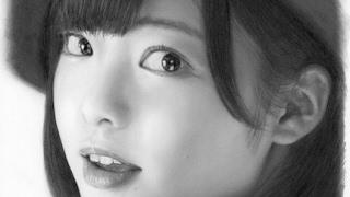 平手友梨奈、描いてみた。完成までの早送り 欅坂46 / Pencil drawing/ Yurina Hirate/  How To Draw/ Fast forwarding