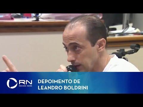 Veja como foi o depoimento de Leandro Boldrini, pai de Bernardo