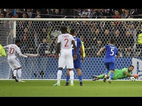 Gianluigi BUFFON vs Olympique Lione - FENOMENO SENZA ETA' (Lione-Juve 0-1)