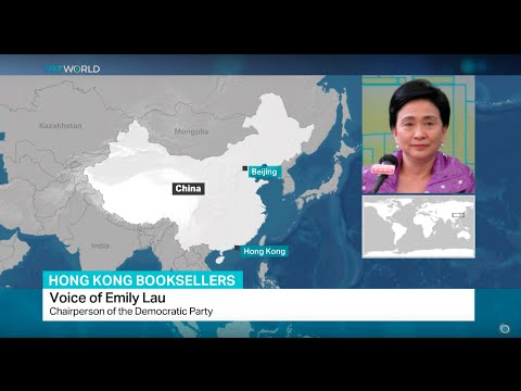 Interview with Emily Lau from Democratic Party of Hong Kong on 3 missing booksellers held in China
