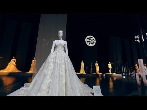 d6a6f9294317a مشاركة دار الهنوف في معرض سرواوفسكي العالمي في دبي - YouTube