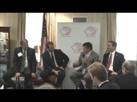 Senator Heller and Representatives Flake, Rehberg, and Berg address The Ripon Society