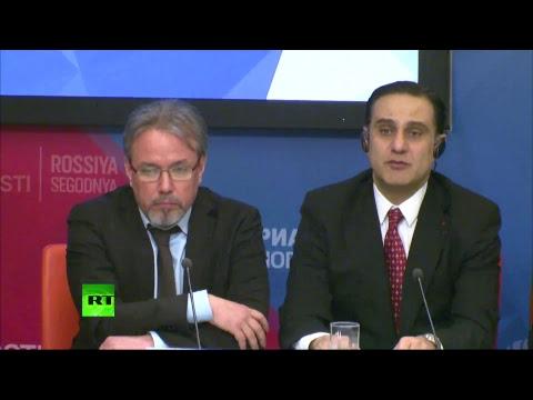 Пресс-конференция международных наблюдателей