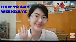Gambar cover Phát âm tiếng Anh chuẩn 7 ngày trong tuần (Moon ESL)