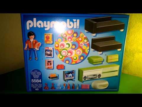 Unpacking playmobil wohnzimmer youtube for Wohnzimmer playmobil