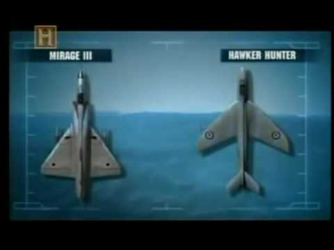 Combates Aéreos Força Aérea Israelense VS Força Aérea da Jordânia History Channel Dublado