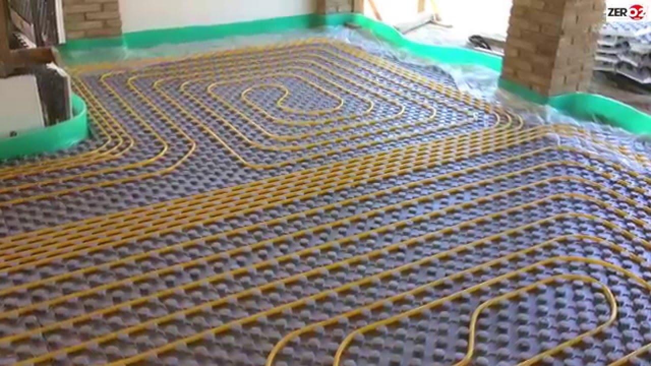 Quanto Costa Un Impianto Di Riscaldamento A Pavimento Al Mq montaggio impianto di riscaldamento a pavimento con massetto