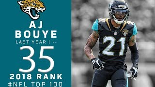 #35: A.J. Bouye (CB, Jaguars) | Top 100 Players of 2018 | NFL
