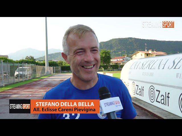 Stefano Della Bella allenatore dell'Eclisse Careni Pievigina giovedì 12 agosto 2021