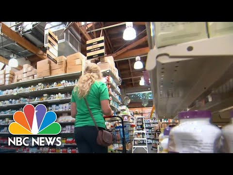 Instacart delivery workers strike for coronavirus protections | NBC Nightly News
