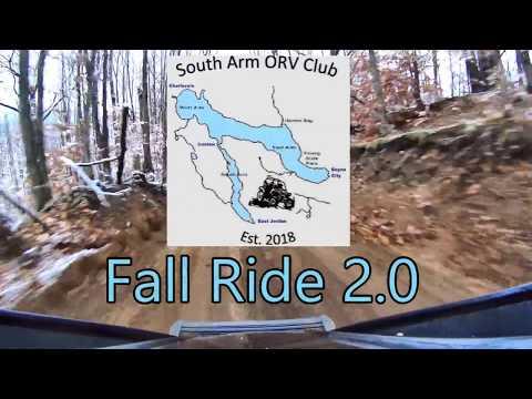 South Arm ORV Club Fall Ride 2018
