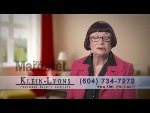 Margaret talks about her car accident lawyers - Klein Lyons