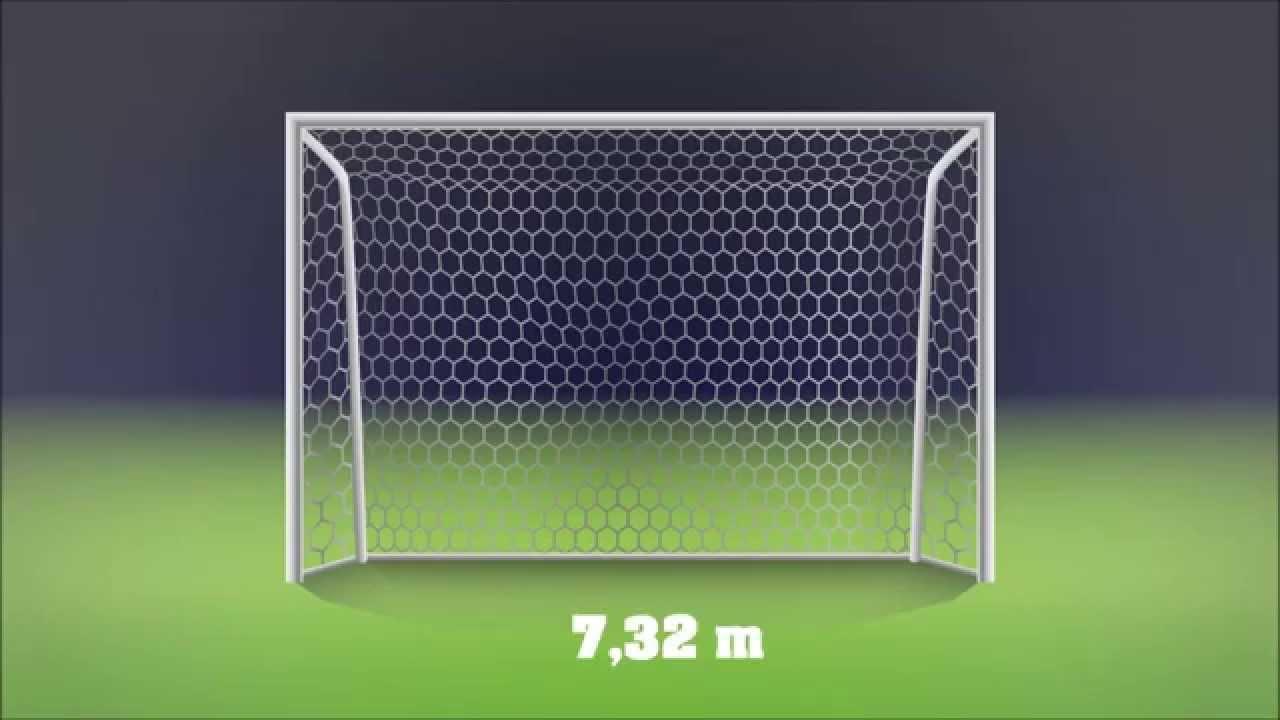 Wie Gross Ist Ein Fussballtor Fussballtor Masse