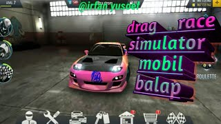 Drag race|simulator mobil balap|bisa modif sendiri