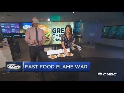 Guy Adami settles the score on the 'Fast Money Chicken Challenge'