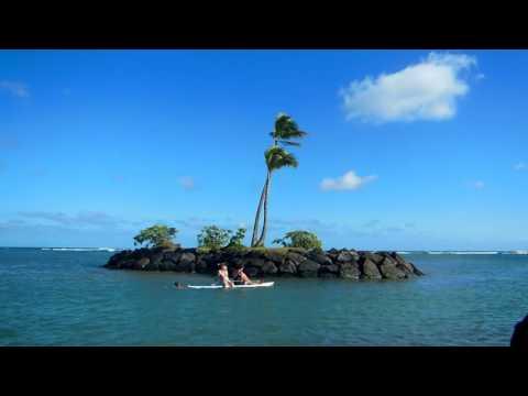 Tropical Island off Wai`alae Beach