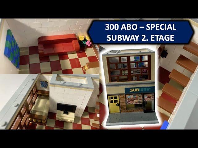 SUBWAY MOC 2.ETAGE + FAQ - 300 ABO - SPECIAL