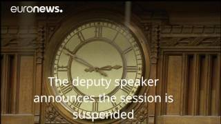 Inside the UK parliament as MPs learn of the attack outside