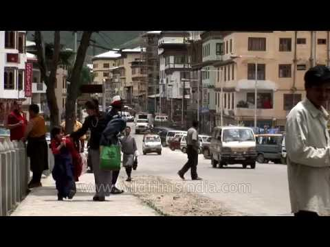 Bhutan: Thimphu Womens' Street Conversations And Chit-chat