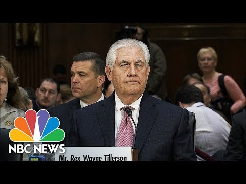 President Trump Fires Rex Tillerson As Secretary Of State, Replaces Him With Mike Pompeo | NBC News