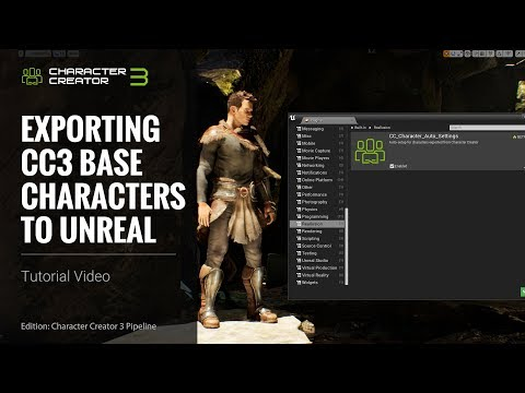 Character Creator 3 Tutorial - Exporting CC3 Base Characters To Unreal With Auto-Setup Plugin