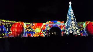 Лазерное шоу на Дворцовой площади 2016 - 4