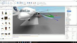 ROBLOX STUDIO: Speedbuild - Alaska Airlines Boeing 737-800!