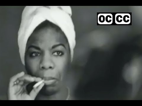 Nina Simone  I Wish I Knew How It Would Feel To Be Free  closed captioned