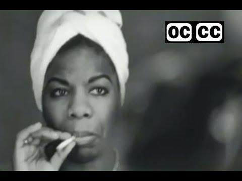 Nina Simone  I Wish I Knew How It Would Feel To Be Free  closed captioned