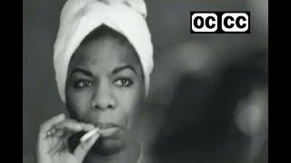 Nina Simone - I Wish I Knew How It Would Feel To Be Free - closed captioned
