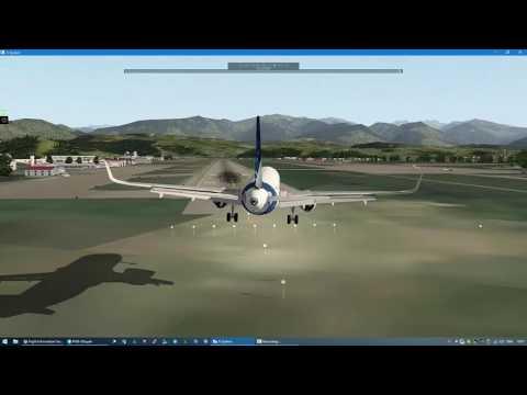 Уход на второй в Сочи A320 X-Plane 10