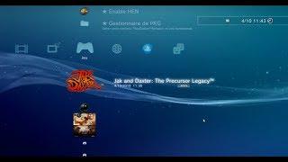 TUTO FR INSTALLER TOUS LES JEUX GRATUITS SUR PS3 4.85