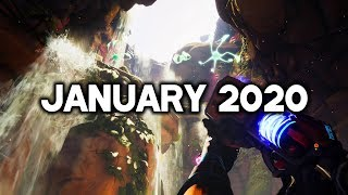 Top 5 New Upcoming Games Of January 2020 | Pc,ps4,xbox One,switch (4k 60fps)