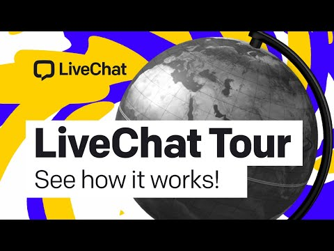 LiveChat product video