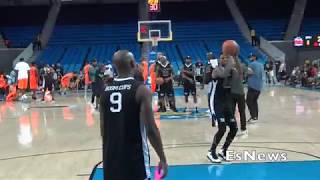 Floyd Mayweather Practicing Shot At UCLA Before Game EsNews Boxing