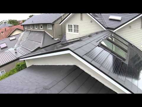 Nu-Lok Integrated Solar Roofing System