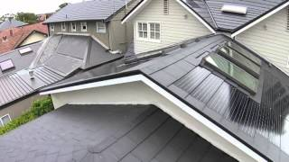 Nu-Lok Integrated Solar Roofing System