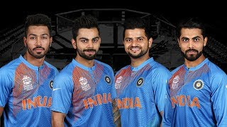 Virat Kohli & Hardik Pandya VS Suresh Raina & Jadeja