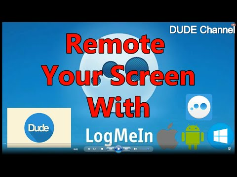How To Remote Windows From IOS /android Devices With Logmein /2016