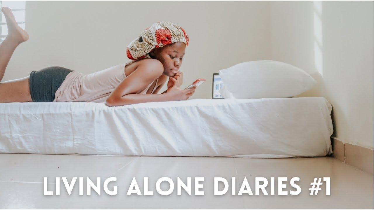 Download Living Alone Diaries | First week living on my own in Lagos, Nigeria. #movingvlog #livinginlagos