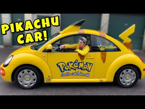 Trying To Buy a 100% REAL PIKACHU Pokemon Car - Only 10 In The World!