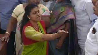Roja Foul Comments On TDP MLA's In Assembly