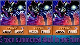 Yu-Gi-Oh! Power of Chaos JOEY THE PASSION- 3 toon summoned skull in one turn